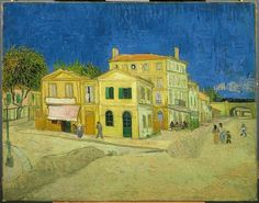 Van Gogh Vincent's House in Arles -The Yellow House