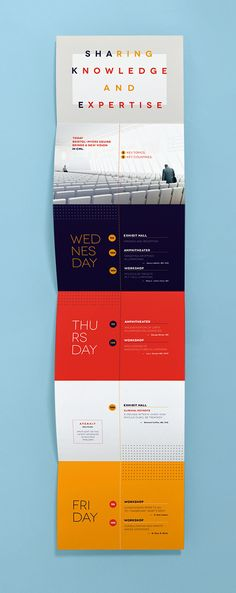 I found the brochure interesting because when you think of Design you think of how something looks. The purpose of a brochure is to attract the reader with a visual of the look and with the content inside which is the Design. Layout Design, Design De Configuration, Web Design, Print Layout, Flyer Design, Booklet Design Layout, Leaflet Layout, Program Design, Design Ideas