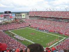 """Raymond James Stadium Tampa, Florida. I saw the game in which Kordell Stewart was benched, the famous """"Crying Game."""" Steelers lost but we were in a box and it was a great experience."""