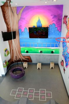 play room in Preminger pediatric dentistry