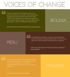 In just five years, the Voices project made significant strides in advancing the sexual and reproductive health and rights of people throughout Latin America. These are the voices of people affected by our work.