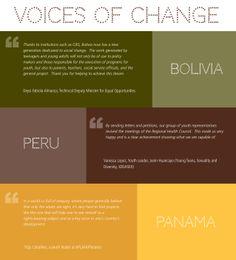 Una programa que se llama los Voices tiene mucho avancos en la salud reproductiva para los mujeres en Latino America.