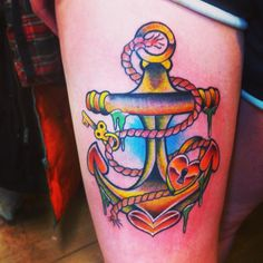 My new anchor tattoo.
