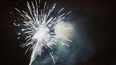 Beautiful firework. New year 2016. Rijeka (Fiume), Croatia