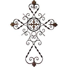 @Overstock - Give your home a decorative and intriguing look with this Provence filigree metal wall cross. With an open-work style, this wall cross will bring an elegant touch to your decor.http://www.overstock.com/Home-Garden/Provence-Filigree-Metal-Wall-Cross/5179428/product.html?CID=214117 $94.99