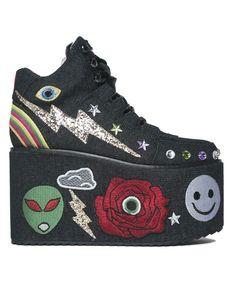 fc2b9ddac7 43 Best shoes images | Rave shoes, Platform sneakers, Rave wear