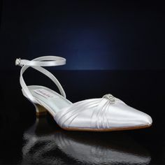 DYEABLES WILLOW WHITE Wedding and Bridesmaids Shoes WHITE Bridal Shoes, IVORY Bridal Shoes