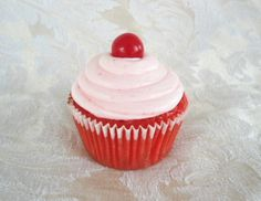 Code Red Mountain Dew Cupcake!