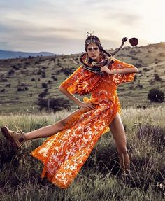 "Duchess Dior: ""African Vibration"" Renata Zandonadi for Vogue Japan May 2016 African Inspired Fashion, Africa Fashion, Tribal Fashion, India Fashion, Fashion 2017, Vogue Japan, Vogue India, Vogue Brazil, Vogue Russia"