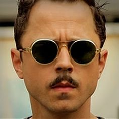 12500352fb2 New Barton Perreira eyewear collection by Giovanni Ribisi. Cool Mustaches