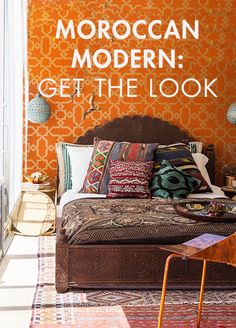accessible tips for creating a Moroccan/modern vibe in your home