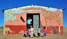 School, Damaraland, Northern Namibia