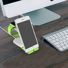 This Apple Watch Stand is a Simplistic elegance and easy functionality for Apple Watch & iPhone & ipad & other Apple devices. Compatible with both the 38mm and 42mm sizes Apple watch. Line slot perfect fit for the charging line. The clean aesthetic coupled with a raised structure enables a clear view of both the iphone and watch