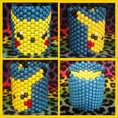 Pikachu Kandi Cuff Pokemon Rave by CrazedCreationz on Etsy, $11.00