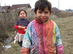 ukraine - roma children by The Presbyterian Church in Canada, via Flickr
