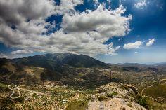 #Alcaucín a la falda de la #Sierra #Tejeda. #Clouds #Nature #Landscape #Mountains #Maroma