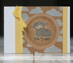 Easter Lamb for the Global Design Project - with Michelle Last Easter Lamb, Counting Sheep, Chocolate Bunny, Make Blog, Stampin Up, Global Design, Card Making, Paper Crafts, The Incredibles