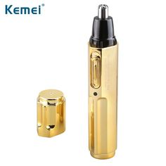 [Visit to Buy] Kemei KM-6616 Fashion Electric Shaving Nose Hair Trimmer Safe Face Care Shaving Trimmer For Nose Trimer for Man and Woman #Advertisement