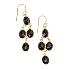 Beautiful onyx cascade earrings, gold-plated, will look amazing with a simple sweater or a glam cocktail dress. Gifts For Women, Gifts For Her, Perfect Gift For Her, Chan Luu, Shop Now, Drop Earrings, Gold, Beautiful, Jewelry