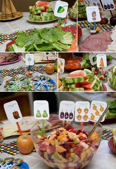 Pin 9: #WorldEricCarle #HungryCaterpillar     The Very Hungry Caterpillar food