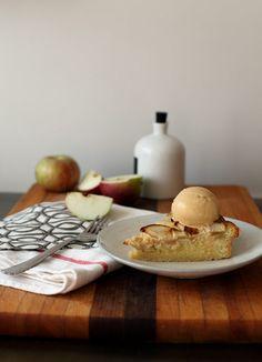 Apple Frangipane Tart from Sweet Fine Day. Yum!