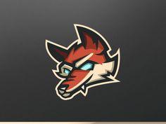 Samurai Reaper Premade Mascot Logo designed by Vedant Patel. Renard Logo, Sports Team Logos, Game Logo, Cool Logo, Samurai, Fox, Logo Design, Vintage Logos, Badges