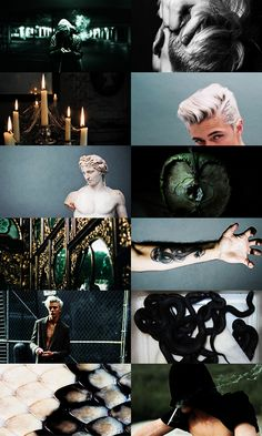 hp aesthetic → draco lucius malfoy