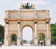 Arc de Triomphe du Carrousel (magyarul Carrousel-diadalív), Párizs