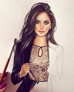 New Fashion Ilustration Drawing Tutorials Artists Ideas Fashion Illustration Sketches, Illustration Mode, Fashion Sketchbook, Fashion Sketches, Arte Fashion, Fashion Mode, Trendy Fashion, Dress Sketches, Art Sketches
