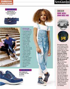 Famiglia Cristiana - aprile 2014  Le #sneakers #NeroGairdini protagoniste del redazionale