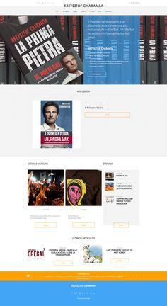 Diseño web para Krzysztof Charamsa
