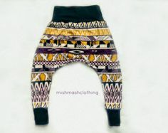 Baby girl pants 6-12 months harem pants READY TO SHIP