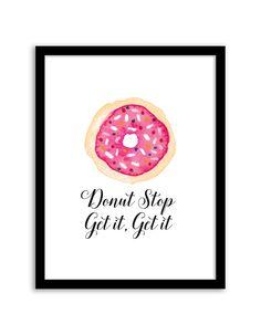 Free Printable Donut