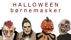 Her har vi samlet det største udvalg af Halloween masker til børn (i Danmark) Uhyggelig Halloween masker er oplagte som alternativ til et Halloween kostume eller til at fuldende din Halloween udklædning