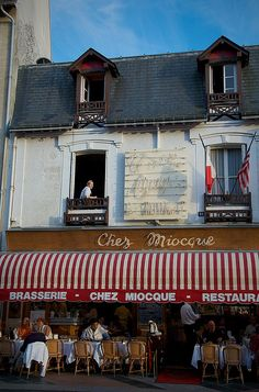 Deauville brasserie I by P van Dijk, via Flickr