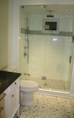 Bathroom Glass Shower #Toronto #Bathroom