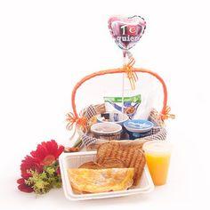 1000 images about canastas para regalar on pinterest - Regala un desayuno a domicilio ...