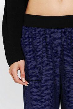 Urban Outfitters - Silence + Noise Pull-On Track Pant