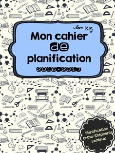 Nouvel onglet !! Planification 2016-2017
