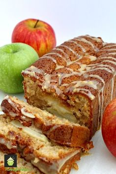 Moist Caramel and Apple Loaf - Lovefoodies