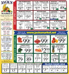 jacks fruit and meat market weekly ad jan 21 27 2018 http
