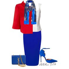 A fashion look from September 2014 featuring Dsquared2 blouses, Coast jackets y Forever New skirts. Browse and shop related looks.