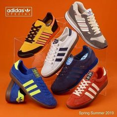 low priced 2b00a f389b Adidas Spezial S-S19 launching 8 3 19 Adidas Spezial, Adidas Og