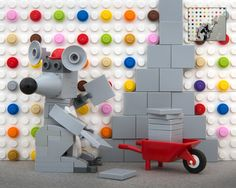 Banksy's iconic street art given a makeover with LEGO | Creative Boom