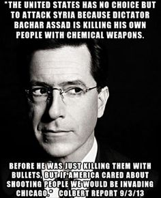 colbert report funny quotes
