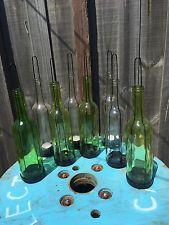 Bottle Tealight holders rustic Vintage Wedding