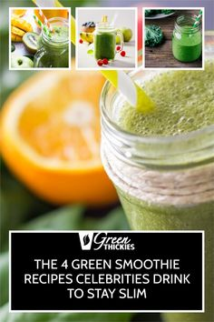 I'm so excited to share the secret green smoothie recipes celebrities are drinking to stay slim. These recipes will help you get the same kind of results. Green Smoothie Cleanse, Green Detox Smoothie, Green Smoothie Recipes, Smoothie Diet, Healthy Smoothies, Get Healthy, Healthy Food, Healthy Recipes, Alternative Health