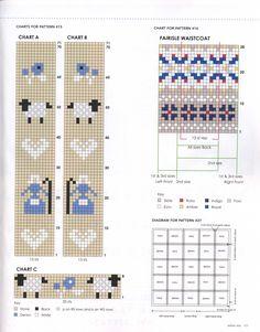 Knitting Charts, Knitting Stitches, Knitting Patterns, Crochet Patterns, Fair Isle Knitting, Double Knitting, Knitted Hats, Knit Crochet, Free Pattern