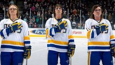 The Hanson Brothers.  Dave Hanson, Steve and Jeff Carlson.