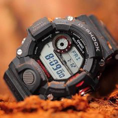 G-Shock GW9400-1D Rangeman fully equipped with Triple Sensor Technology (Altimeter Barometer Compass Thermometer and Tough Solar) #gshock #rangeman